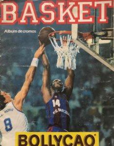 1989 Álbum de cromos  antiguos de baloncesto