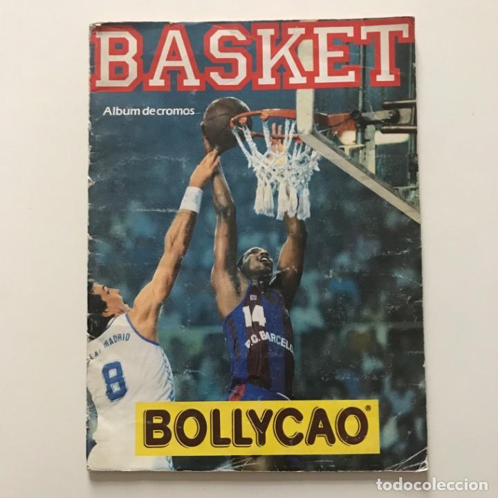 Coleccionismo deportivo: 1989 Álbum de cromos de baloncesto. Contiene 40 de 149 cromos. Basket ACB. Bollycao 23x31 cm - Foto 2 - 159378086