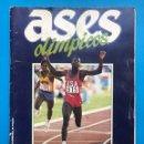 Coleccionismo deportivo: ALBUM CROMOS - ASES OLIMPICOS - AS - COMPLETO. Lote 160075838
