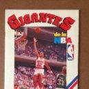 Coleccionismo deportivo: ALBUM GIGANTES DE LA NBA COMPLETO MICHAEL JORDAN, LARRY BIRD, MAGIC JOHNSON.... Lote 160262918