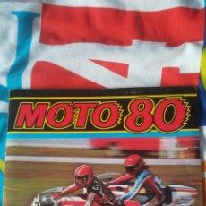 Coleccionismo deportivo: MOTO 80 ALBUM DE CROMOS ESTE. Lote 160829638