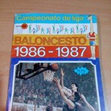 Coleccionismo deportivo: ÁLBUM BALONCESTO 1986 1987 CAMPEONATO LIGA - MERCHANTE -COMPLETO - BUEN ESTADO - VER FOTOS. Lote 162635222
