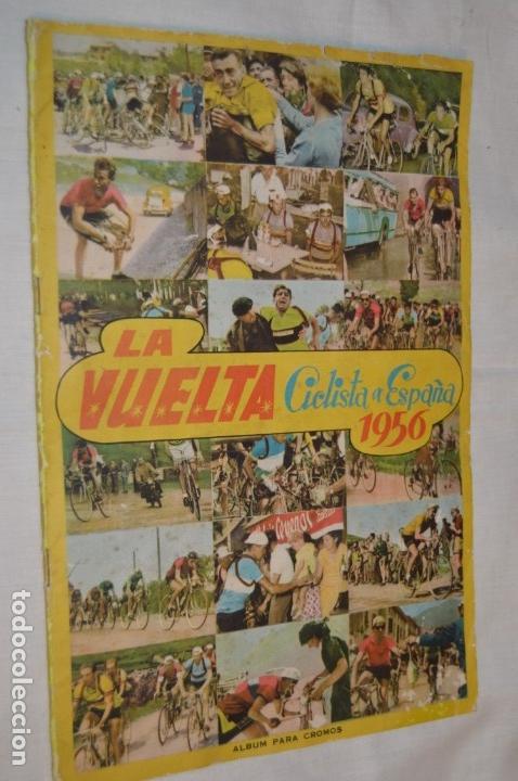 Coleccionismo deportivo: ALBUM FHER - LA VUELTA Ciclista a España 1956 - AÑOS 50 - ¡COMPLETO! - Original VINTAGE - ¡Mira! - Foto 2 - 163785229