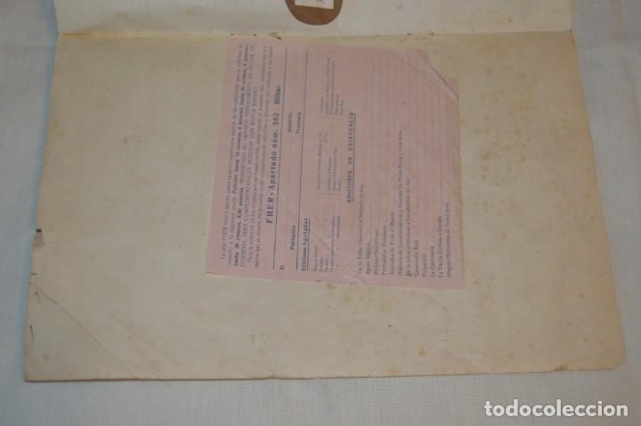 Coleccionismo deportivo: ALBUM FHER - LA VUELTA Ciclista a España 1956 - AÑOS 50 - ¡COMPLETO! - Original VINTAGE - ¡Mira! - Foto 4 - 163785229