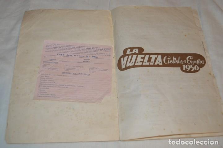 Coleccionismo deportivo: ALBUM FHER - LA VUELTA Ciclista a España 1956 - AÑOS 50 - ¡COMPLETO! - Original VINTAGE - ¡Mira! - Foto 6 - 163785229