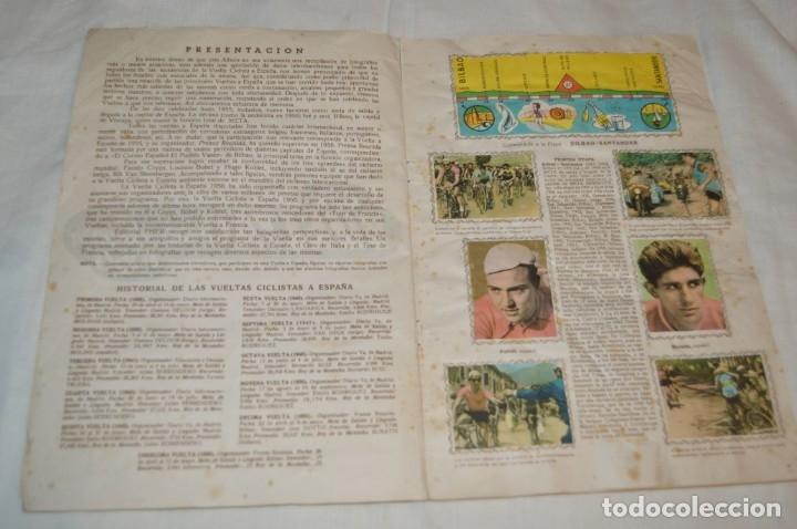 Coleccionismo deportivo: ALBUM FHER - LA VUELTA Ciclista a España 1956 - AÑOS 50 - ¡COMPLETO! - Original VINTAGE - ¡Mira! - Foto 7 - 163785229