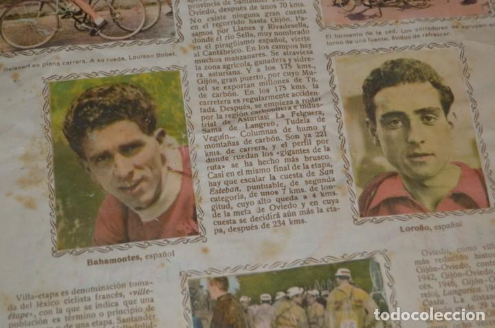 Coleccionismo deportivo: ALBUM FHER - LA VUELTA Ciclista a España 1956 - AÑOS 50 - ¡COMPLETO! - Original VINTAGE - ¡Mira! - Foto 10 - 163785229