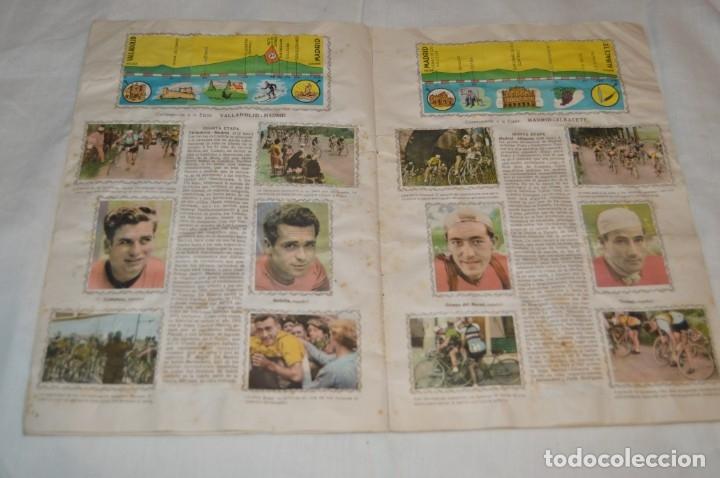 Coleccionismo deportivo: ALBUM FHER - LA VUELTA Ciclista a España 1956 - AÑOS 50 - ¡COMPLETO! - Original VINTAGE - ¡Mira! - Foto 11 - 163785229