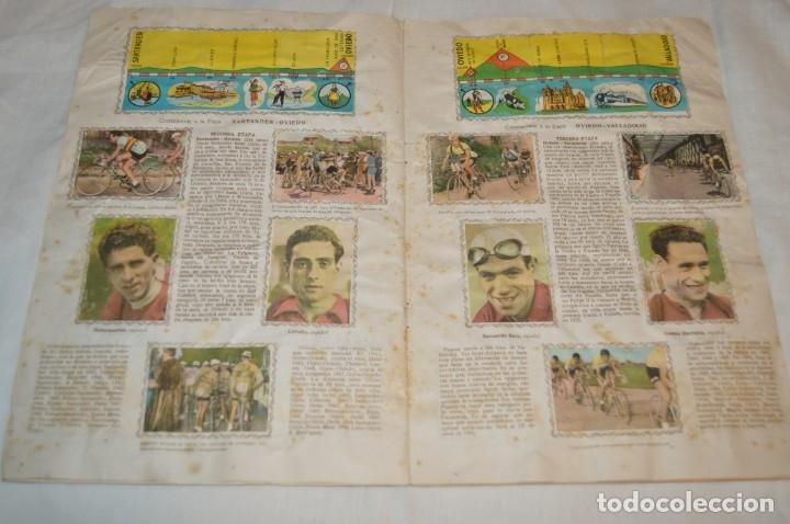 Coleccionismo deportivo: ALBUM FHER - LA VUELTA Ciclista a España 1956 - AÑOS 50 - ¡COMPLETO! - Original VINTAGE - ¡Mira! - Foto 9 - 163785229