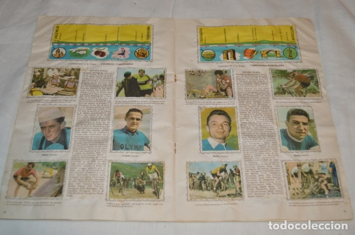 Coleccionismo deportivo: ALBUM FHER - LA VUELTA Ciclista a España 1956 - AÑOS 50 - ¡COMPLETO! - Original VINTAGE - ¡Mira! - Foto 13 - 163785229