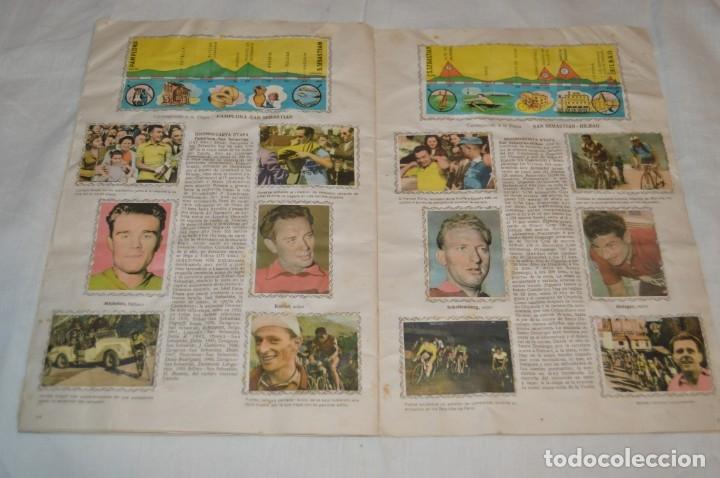 Coleccionismo deportivo: ALBUM FHER - LA VUELTA Ciclista a España 1956 - AÑOS 50 - ¡COMPLETO! - Original VINTAGE - ¡Mira! - Foto 16 - 163785229