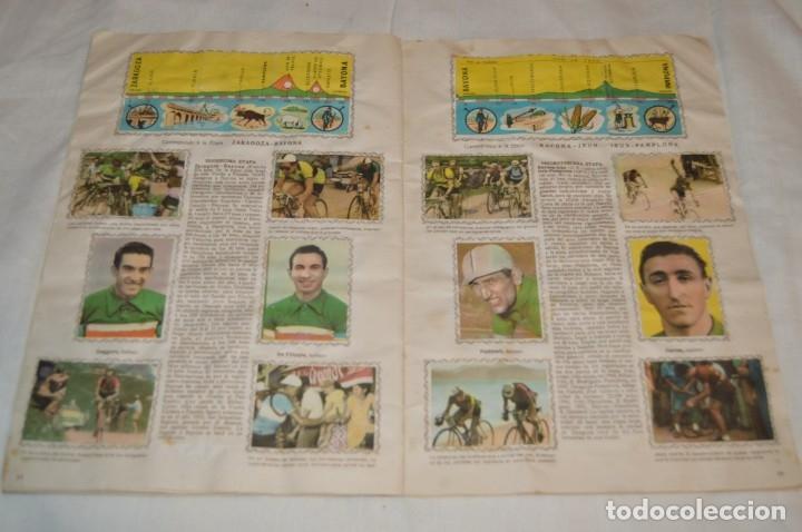 Coleccionismo deportivo: ALBUM FHER - LA VUELTA Ciclista a España 1956 - AÑOS 50 - ¡COMPLETO! - Original VINTAGE - ¡Mira! - Foto 15 - 163785229