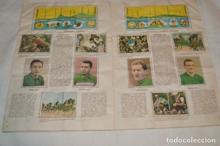 Coleccionismo deportivo: ALBUM FHER - LA VUELTA Ciclista a España 1956 - AÑOS 50 - ¡COMPLETO! - Original VINTAGE - ¡Mira! - Foto 14 - 163785229