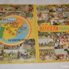 Coleccionismo deportivo: ALBUM FHER - LA VUELTA CICLISTA A ESPAÑA 1956 - AÑOS 50 - ¡COMPLETO! - ORIGINAL VINTAGE - ¡MIRA!. Lote 163785229