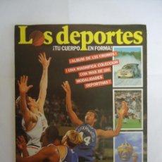 Coleccionismo deportivo: ALBUM COMPLETO LOS DEPORTES 135 CROMOS . AÑO 1987. Lote 163837026