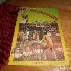 Coleccionismo deportivo: ÁLBUM CAMPEONATO BALONCESTO LIGA 84-85 ED. MERCHANTE 1984 VACIO. Lote 165098894