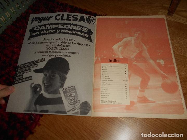 Coleccionismo deportivo: ÁLBUM CAMPEONATO BALONCESTO LIGA 84-85 ED. MERCHANTE 1984 VACIO - Foto 2 - 165098894