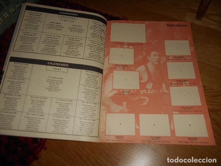 Coleccionismo deportivo: ÁLBUM CAMPEONATO BALONCESTO LIGA 84-85 ED. MERCHANTE 1984 VACIO - Foto 3 - 165098894