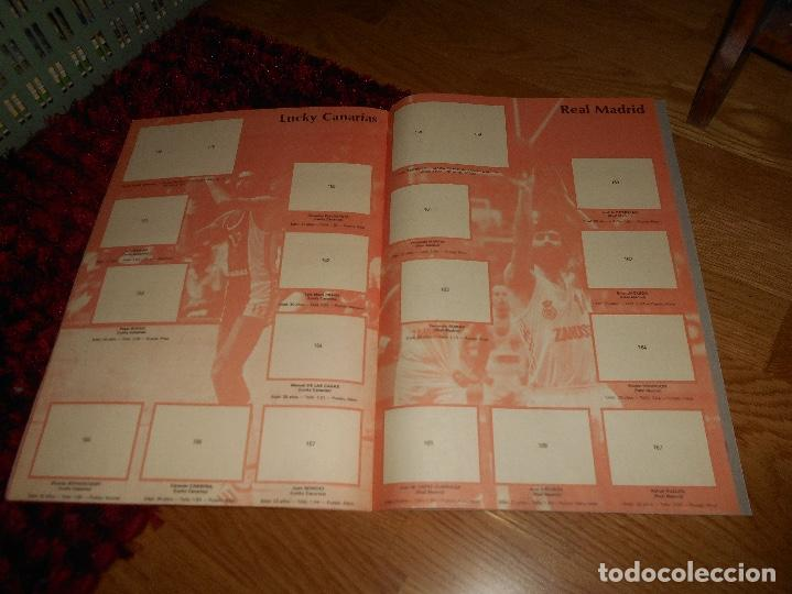 Coleccionismo deportivo: ÁLBUM CAMPEONATO BALONCESTO LIGA 84-85 ED. MERCHANTE 1984 VACIO - Foto 7 - 165098894