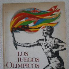 Coleccionismo deportivo: LOS JUEGOS OLIMPICOS. NESTLE. 1964. ALBUM DE CROMOS INCOMPLETO. CONTIENE 47 CROMOS. 850 GRAMOS.. Lote 166592538