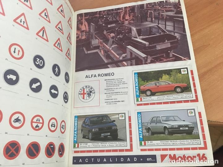 Coleccionismo deportivo: COCHES MOTOR 16 ALBUM COMPLETO . CUSCO ARTS GRAFIQUES (AB-1) - Foto 4 - 166802982