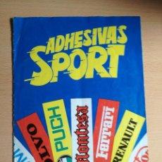 Coleccionismo deportivo: ALBUM ADHESIVAS SPORT, 1984, CON 104 CROMOS PEGADOS. . Lote 168469096