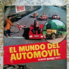 Coleccionismo deportivo: ÁLBUM EL MUNDO DEL AUTOMÓVIL. Lote 169169696