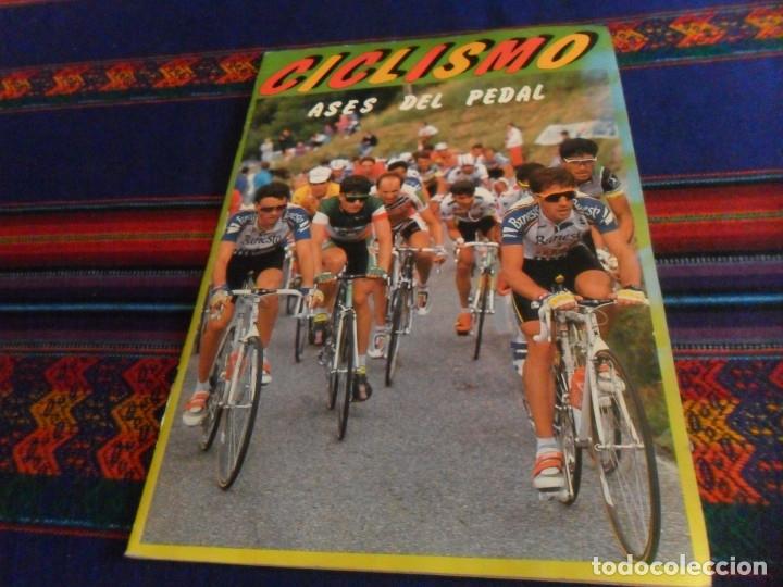 ASES INTERNACIONALES DEL PEDAL Y CICLISMO ASES DEL PEDAL INCOMPLETO. J. MERCHANTE 1983 Y 1992. RAROS (Coleccionismo Deportivo - Álbumes otros Deportes)