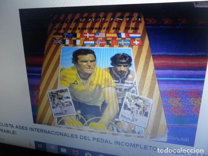 Coleccionismo deportivo: ASES INTERNACIONALES DEL PEDAL Y CICLISMO ASES DEL PEDAL INCOMPLETO. J. MERCHANTE 1983 Y 1992. RAROS - Foto 8 - 37895540