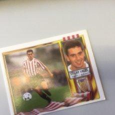 Coleccionismo deportivo: ESTE 95 96 1995 1996 SIN PEGAR ATHLETIC DE BILBAO OSCAR VALES. Lote 171480830