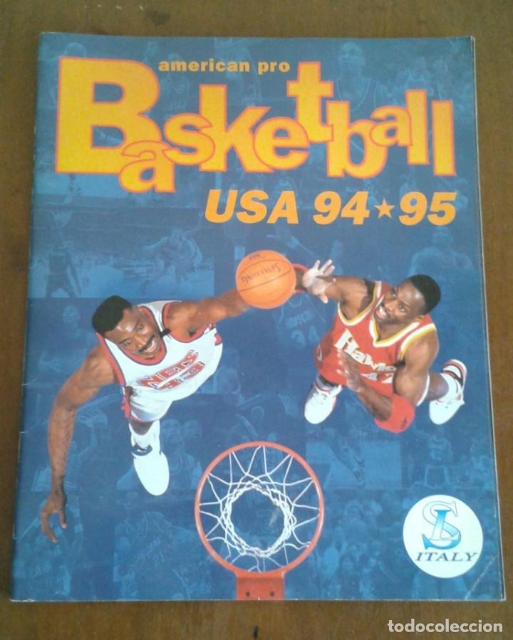 ALBUM BASKETBALL USA 94 95 INCOMPLETO 23 CROMOS (Coleccionismo Deportivo - Álbumes otros Deportes)