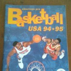 Coleccionismo deportivo: ALBUM BASKETBALL USA 94 95 INCOMPLETO 23 CROMOS. Lote 173012044