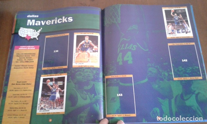 Coleccionismo deportivo: ALBUM BASKETBALL USA 94 95 INCOMPLETO 23 CROMOS - Foto 3 - 173012044