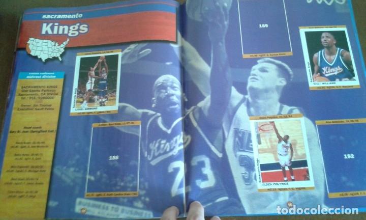 Coleccionismo deportivo: ALBUM BASKETBALL USA 94 95 INCOMPLETO 23 CROMOS - Foto 6 - 173012044
