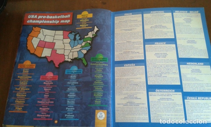 Coleccionismo deportivo: ALBUM BASKETBALL USA 94 95 INCOMPLETO 23 CROMOS - Foto 7 - 173012044