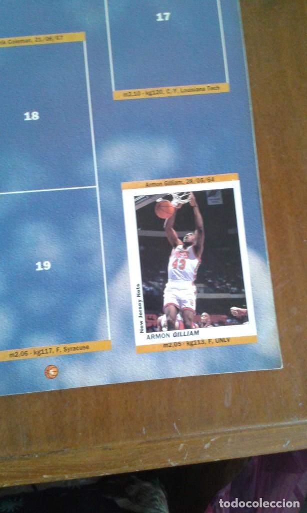 Coleccionismo deportivo: ALBUM BASKETBALL USA 94 95 INCOMPLETO 23 CROMOS - Foto 8 - 173012044