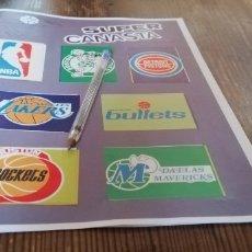 Coleccionismo deportivo: 1986 ALBUM SUPER CANASTA CON MICHAEL JORDAN ÚNICO EN TC. Lote 173145420