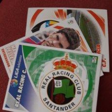 Coleccionismo deportivo: ESTE 12 13 2012 2013 ESCUDO SIN PEGAR RACING DE SANTANDER. Lote 173415895