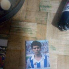 Coleccionismo deportivo: CROMO PEGATINA FÚTBOL ROBERTO LÓPEZ UFARTE REAL SOCIEDAD SIN PEGAR. Lote 173995052