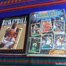 Coleccionismo deportivo: PREMIER NBA EURO EDITION BASKETBALL COLLECTOR´S ALBUM 92 Y FLEER 94 95 COLLECTORS COMPLETO. PANINI.. Lote 174592729