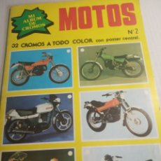Coleccionismo deportivo: MOTOS ÁLBUM. Lote 175433738
