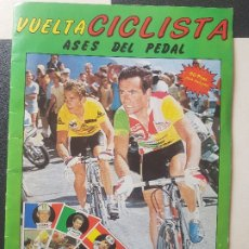 Coleccionismo deportivo: ALBUM DE CROMOS VUELTA CICLISTA,ASES DEL PEDAL J.MERCHANTE-SIMIL ESTE,PANINI,CANO VER FOTOS. Lote 175750264