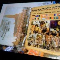 Coleccionismo deportivo: VUELTA CICLISTA ASES INTERNACIONALES DEL PEDAL 1984 INCOMPLETO FALTAN 27 DE 220 CROMOS. PORTE GRATIS. Lote 176465239