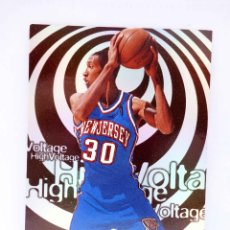 Coleccionismo deportivo: TRADING CARD BASKETBALL NBA HOOPS HIGH VOLTAGE HV9. KERRY KITTLES. SKYBOX, 1998. Lote 176581193