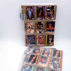 Collectionnisme sportif: TRADING CARDS NBA BASKETBALL FLEER 1992-93. LOTE DE 147. VER LISTA. FLEER, 1992. Lote 176581208