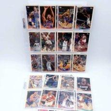 Coleccionismo deportivo: TOPPS TRADING CARDS NBA BASKETBALL TEMPORADA 1992-93. LOTE DE 36 CARTAS. VER LISTA. TOPPS, 1993. Lote 176581263