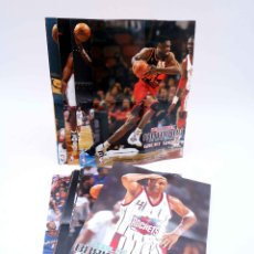 Coleccionismo deportivo: SKY BOX TRADING CARDS BASKETBALL NBA HOOPS GREAT SHOTS 1 A 30, SALVO 25. CASI COMPLETA. SKYBOX, 1998. Lote 176581288