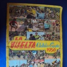 Coleccionismo deportivo: (AL-190906)ALBUM DE CROMOS LA VUELTA CICLISTA A ESPAÑA 1956 - EDITORIAL FHER - COMPLETO. Lote 177701594