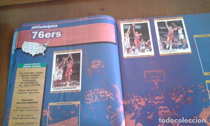 Coleccionismo deportivo: ALBUM BASKETBALL USA 94 95 INCOMPLETO 23 CROMOS - Foto 2 - 178654097