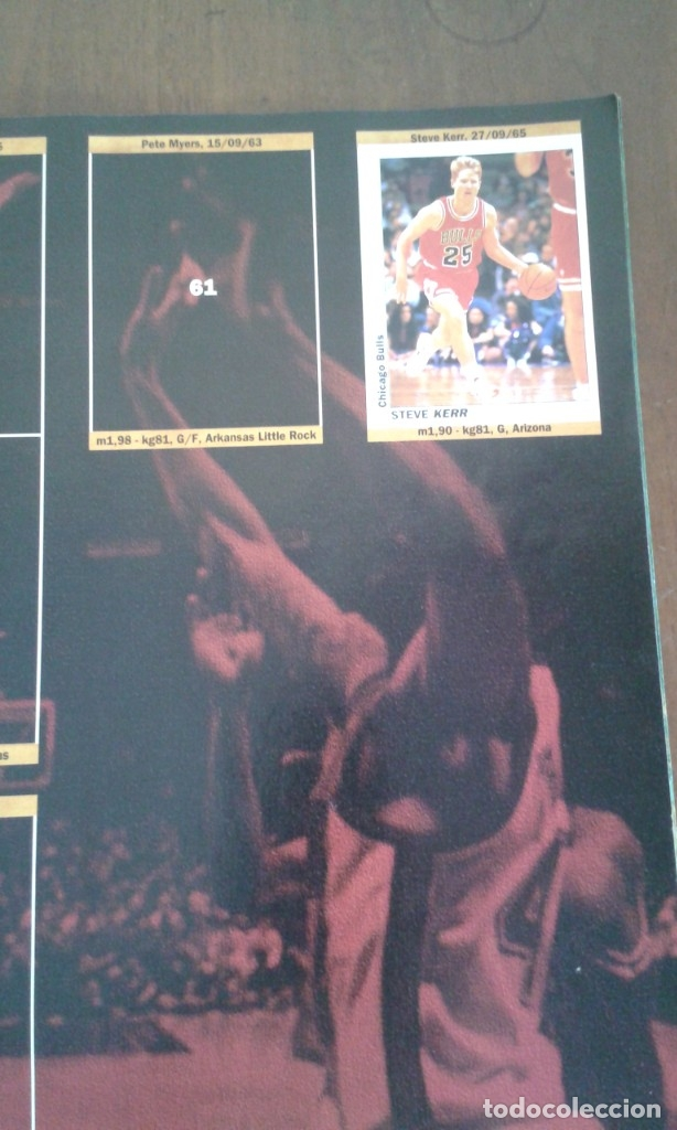 Coleccionismo deportivo: ALBUM BASKETBALL USA 94 95 INCOMPLETO 23 CROMOS - Foto 3 - 178654097